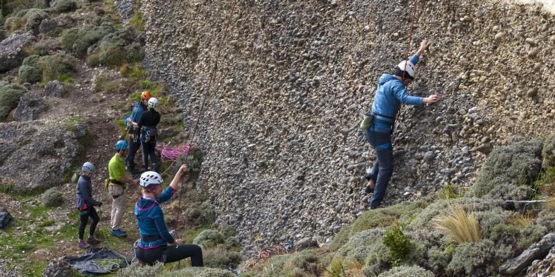 Tobi Rock Climbing