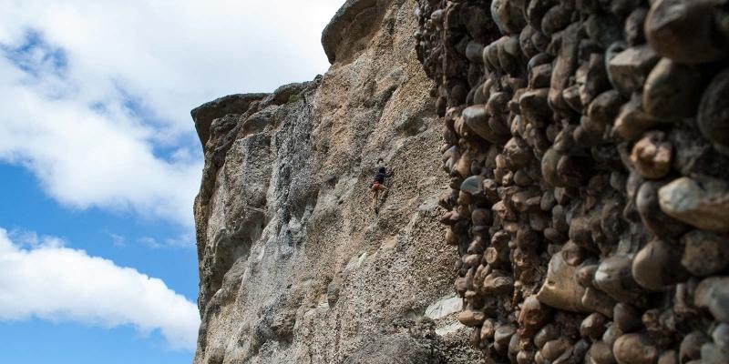 Climbing Laguna Sofia