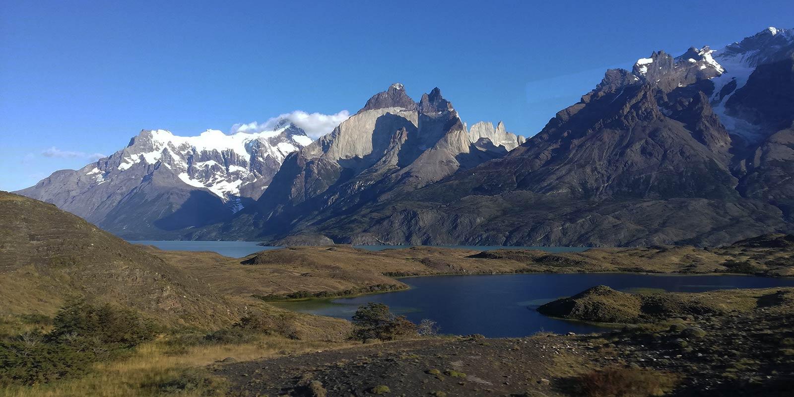 Paine Grande, Los Cuernos, Almirante Nieto, Lake Nordenskjöld