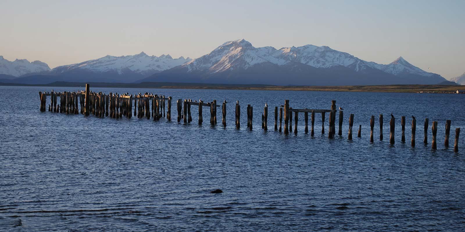 Old pier Puerto Natales